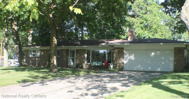 20159 Canal Drive S, Grosse Ile Twp, MI 48138 (#219062213) :: The Mulvihill Group