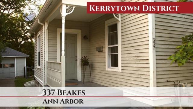 337 Beakes Street, Ann Arbor, MI 48104 (#543266636) :: KNE Realty 360