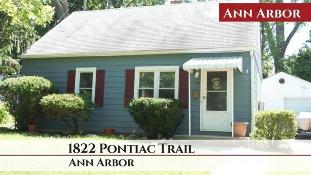 1822 Pontiac Trail, Ann Arbor, MI 48105 (#543266645) :: The Buckley Jolley Real Estate Team