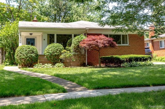 4245 Manor Avenue, Royal Oak, MI 48073 (#219064181) :: The Buckley Jolley Real Estate Team