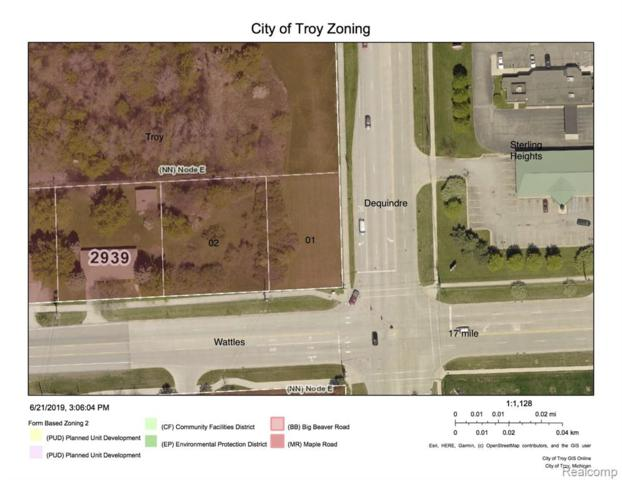 0000 Dequindre Road N, Troy, MI 48085 (#219065196) :: The Mulvihill Group