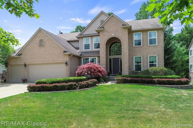 1033 Birchway Court, South Lyon, MI 48178 (#219067279) :: Duneske Real Estate Advisors