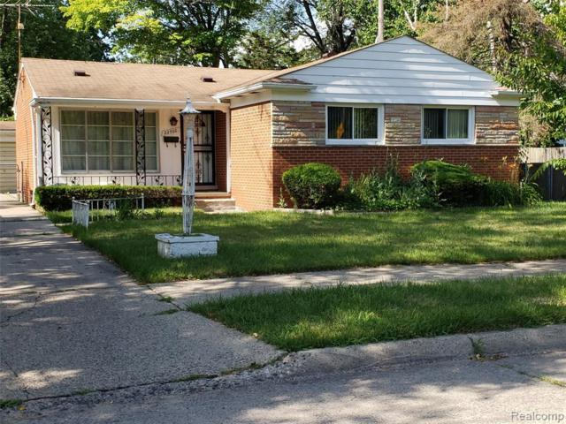 22500 Fargo Street, Detroit, MI 48219 (MLS #219067493) :: The Toth Team