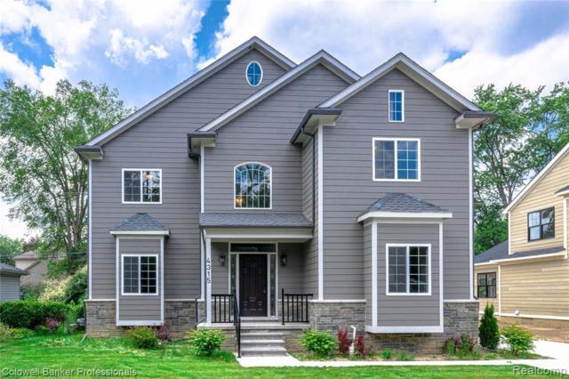 4315 Hampton Boulevard, Royal Oak, MI 48073 (#219067807) :: The Mulvihill Group