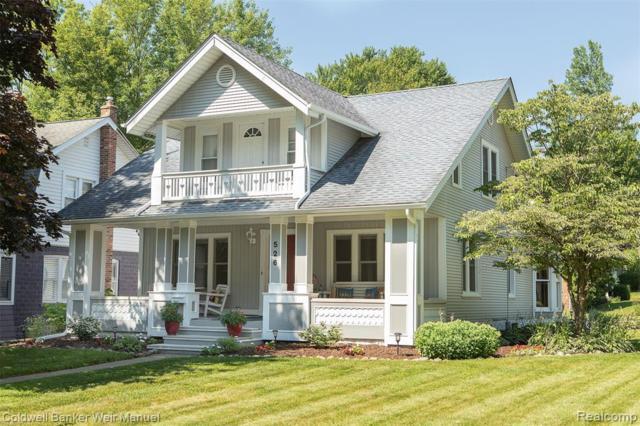 526 Orchard Drive, Northville, MI 48167 (#219067891) :: GK Real Estate Team
