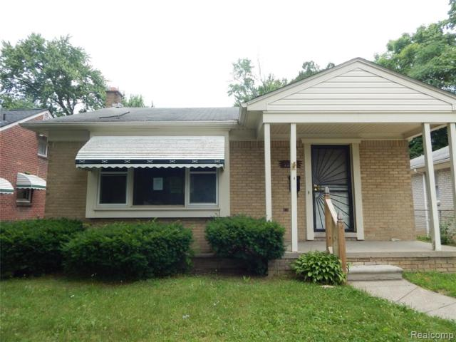 22034 Curtis Street, Detroit, MI 48219 (MLS #219068080) :: The Toth Team