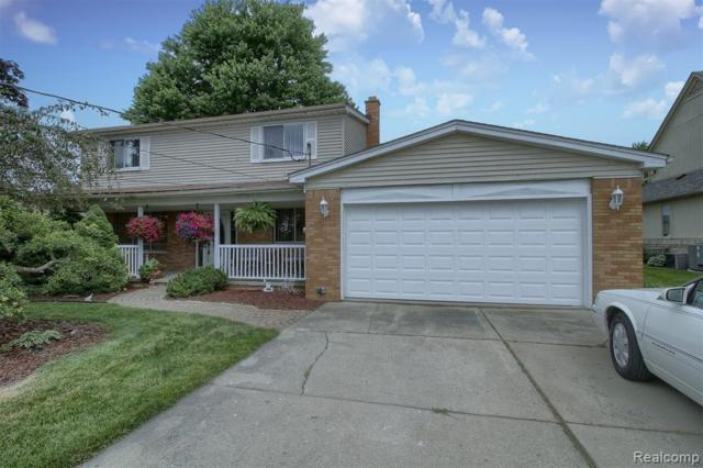 49617 Nautical Drive, Chesterfield Twp, MI 48047 (#219068347) :: The Mulvihill Group