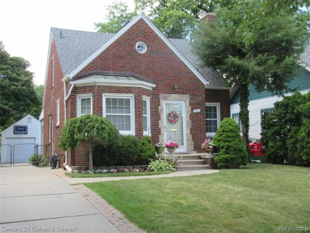 1801 N Elizabeth Street, Dearborn, MI 48128 (MLS #219068545) :: The Toth Team