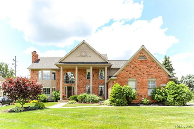 12217 Deer Creek Run, Plymouth Twp, MI 48170 (#219068763) :: GK Real Estate Team