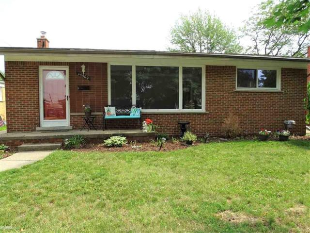 17900 Winsome, Fraser, MI 48026 (MLS #58031387011) :: The Toth Team