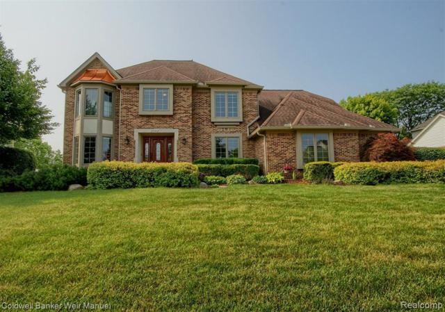 8995 Quail Circle, Plymouth Twp, MI 48170 (#219068997) :: GK Real Estate Team