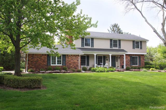 892 Satterlee Road, Bloomfield Twp, MI 48304 (#219069067) :: GK Real Estate Team