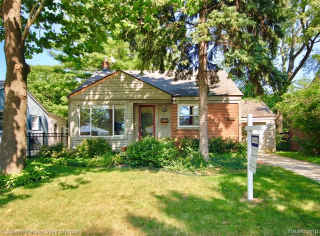 4710 Cooper Avenue, Royal Oak, MI 48073 (#219069076) :: The Alex Nugent Team | Real Estate One