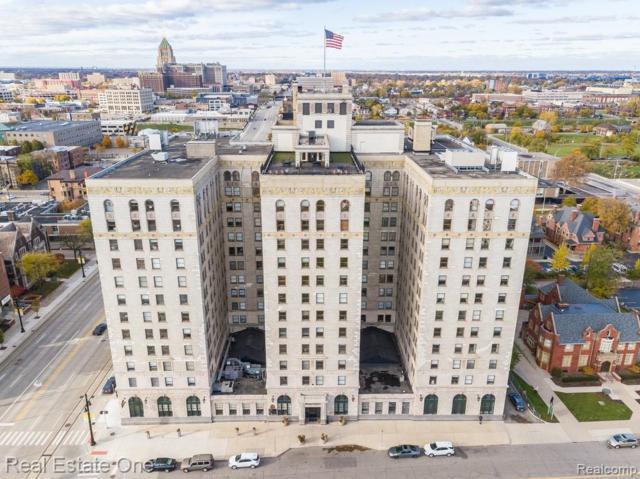 15 E Kirby #607 Street #607, Detroit, MI 48202 (MLS #219069107) :: The Toth Team
