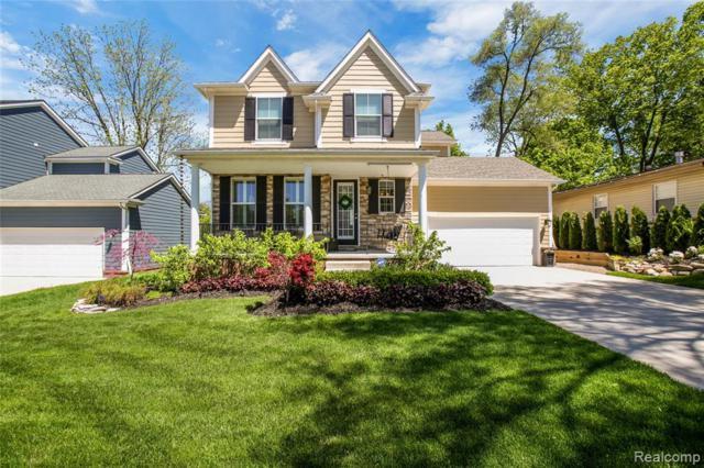 872 N Center Street, Northville, MI 48167 (#219069333) :: GK Real Estate Team