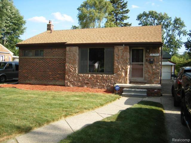 28243 S Clements Circle, Livonia, MI 48150 (#219069342) :: RE/MAX Classic