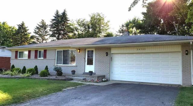 24380 Glenda, Novi, MI 48375 (#58031387130) :: GK Real Estate Team