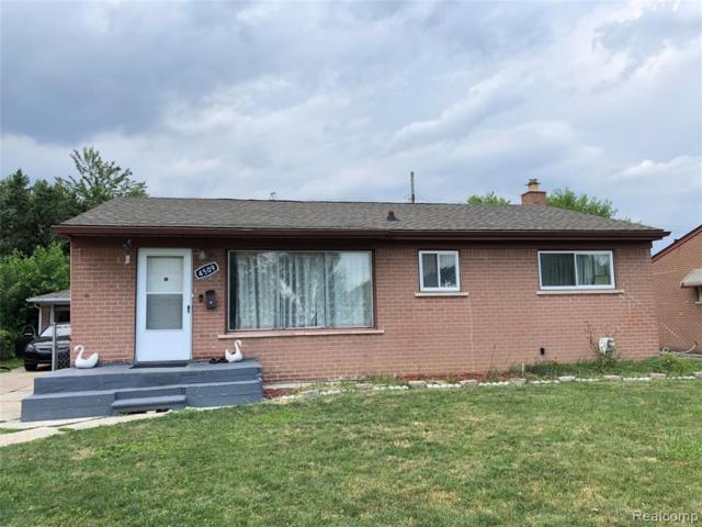 4509 Buchanan Avenue, Warren, MI 48092 (#219069362) :: The Alex Nugent Team | Real Estate One