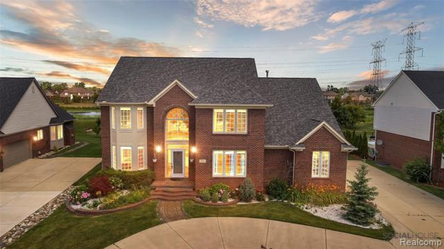 393 W Canford Park, Canton Twp, MI 48187 (#219069458) :: RE/MAX Classic