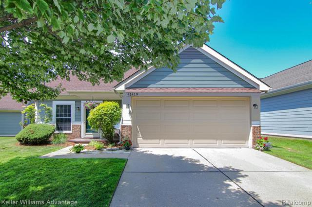 41419 Cornell Drive, Novi, MI 48377 (#219069531) :: Duneske Real Estate Advisors