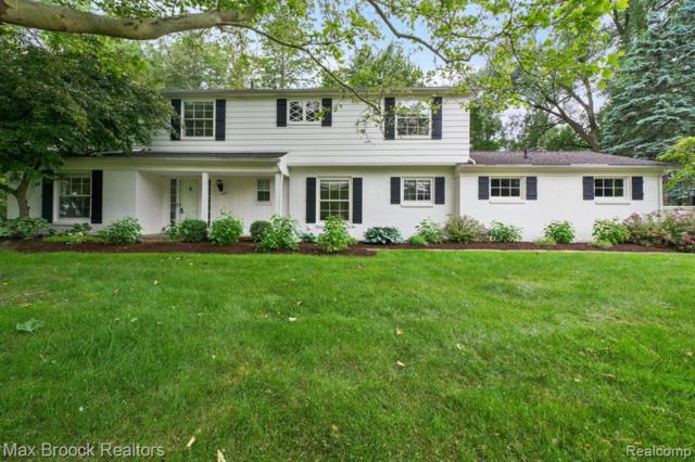 2265 Hunt Club Drive, Bloomfield Hills, MI 48304 (#219069543) :: RE/MAX Nexus