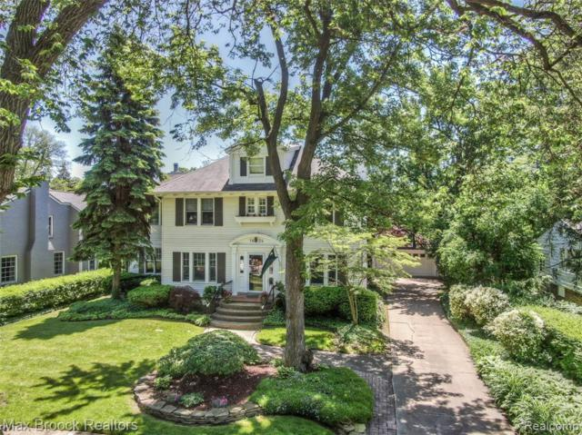 1424 Yorkshire Road, Birmingham, MI 48009 (#219069546) :: The Alex Nugent Team | Real Estate One