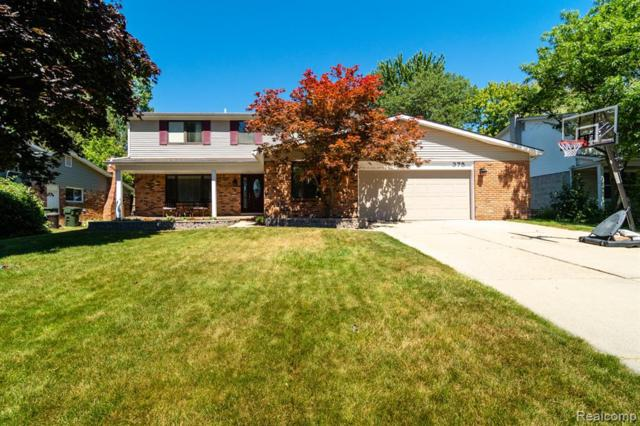 375 Antoinette Drive, Rochester Hills, MI 48309 (#219069728) :: The Alex Nugent Team | Real Estate One