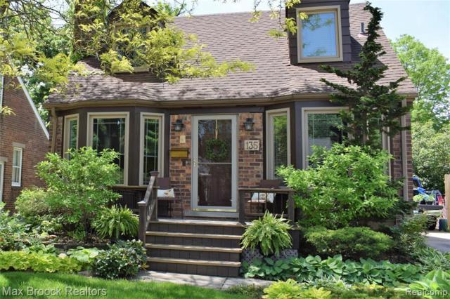 135 N Wilson Avenue, Royal Oak, MI 48067 (#219069820) :: The Alex Nugent Team | Real Estate One