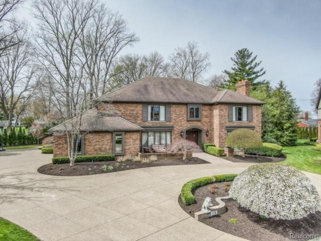 75 Regal Pl, Village of Grosse Pointe Shores, MI 48236 (#219069926) :: The Mulvihill Group