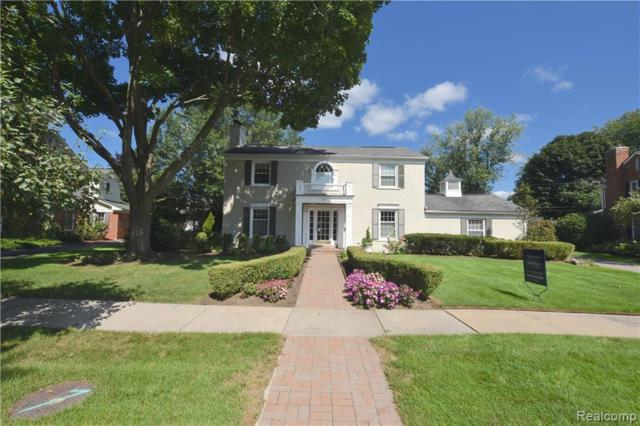 140 Hamilton Road, Bloomfield Twp, MI 48301 (#219069979) :: The Mulvihill Group