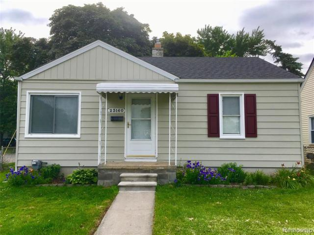 23160 Battelle Avenue, Hazel Park, MI 48030 (MLS #219069980) :: The Toth Team