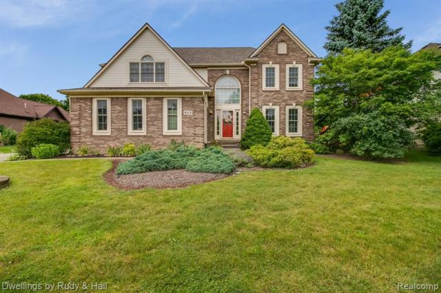 9115 Countrywood Drive, Plymouth Twp, MI 48170 (#219069995) :: The Alex Nugent Team | Real Estate One