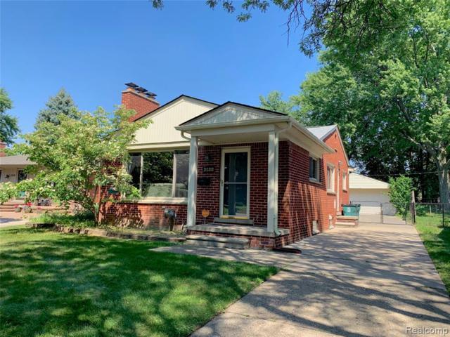 3132 Glenview Avenue, Royal Oak, MI 48073 (#219070016) :: Springview Realty