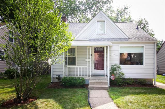 128 N Rembrandt Avenue, Royal Oak, MI 48067 (#219070028) :: The Mulvihill Group