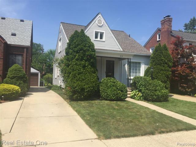 619 N Elizabeth St, Dearborn, MI 48128 (#219070072) :: RE/MAX Nexus