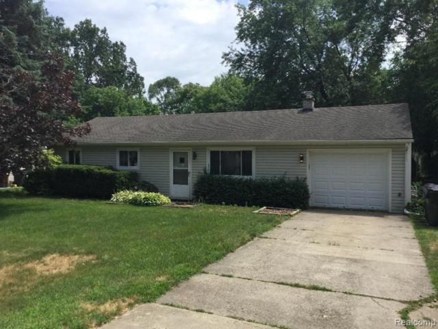 2172 Lee Avenue, Shelby Twp, MI 48317 (#219070181) :: The Mulvihill Group