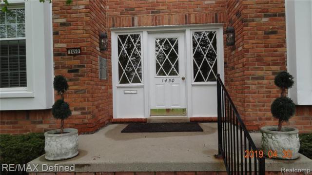 1450 Trailwood Path Path C, Bloomfield Twp, MI 48301 (#219070320) :: GK Real Estate Team