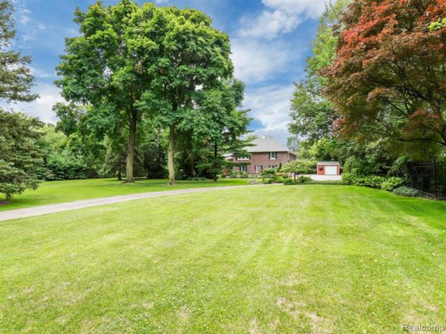 905 Three Mile Drive, Grosse Pointe Park, MI 48230 (#219070417) :: The Mulvihill Group