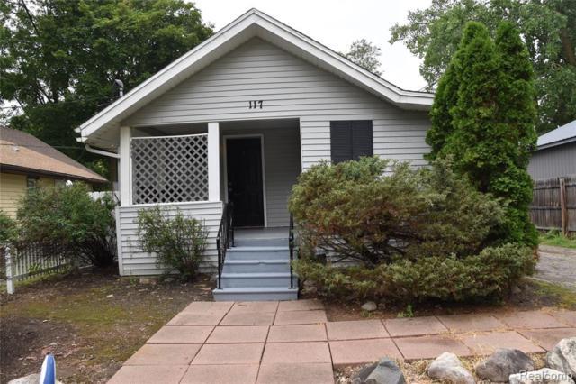 117 Putnam Avenue, Pontiac, MI 48342 (MLS #219070440) :: The Toth Team