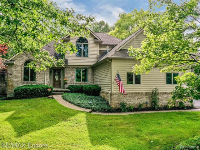 9157 Softwater Woods Drive, Springfield Twp, MI 48348 (#219070469) :: The Alex Nugent Team | Real Estate One