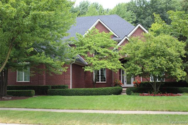 14869 Shady Lane, Shelby Twp, MI 48315 (MLS #219070619) :: The John Wentworth Group