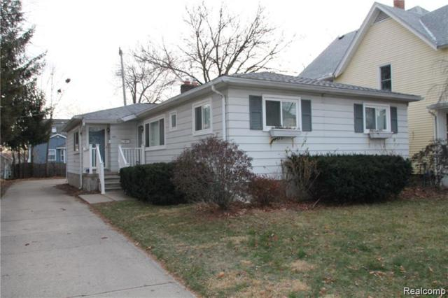252 N Harvey Street, Plymouth, MI 48170 (#219070862) :: Duneske Real Estate Advisors