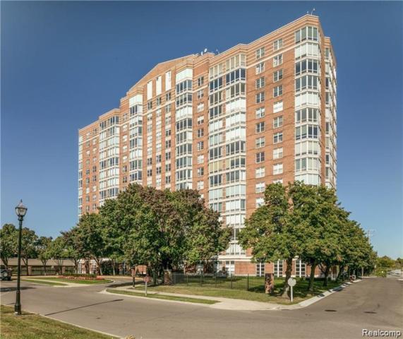 250 E Harbortown Drive #701, Detroit, MI 48207 (#219070910) :: The Buckley Jolley Real Estate Team