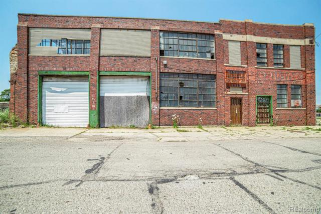 1313 E Milwaukee Street, Detroit, MI 48211 (MLS #219071274) :: The Toth Team