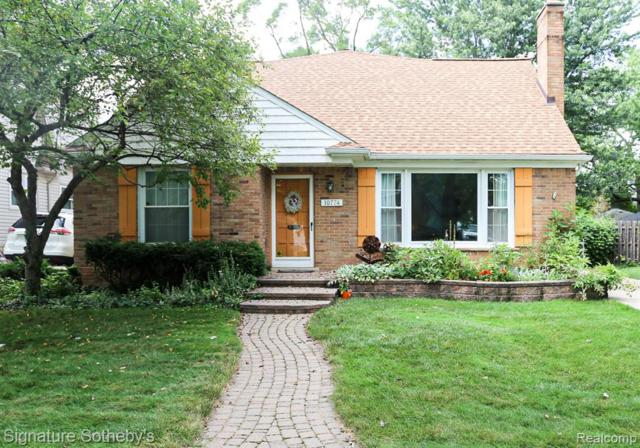10774 Kingston Avenue, Huntington Woods, MI 48070 (MLS #219071362) :: The Toth Team