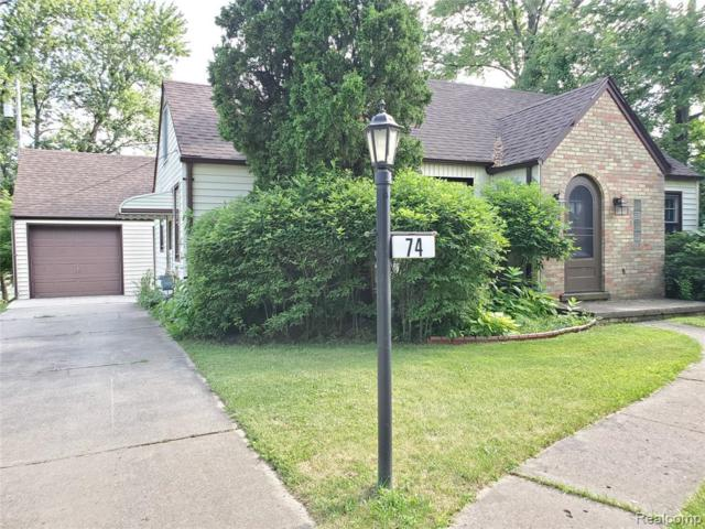 74 Summer Street, Orion Twp, MI 48362 (MLS #219071714) :: The Toth Team