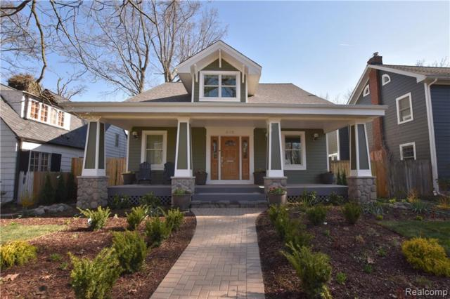 615 Oak Avenue, Birmingham, MI 48009 (#219071831) :: RE/MAX Nexus