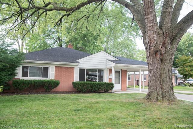 11360 W Clements Circle, Livonia, MI 48150 (#219071844) :: RE/MAX Classic