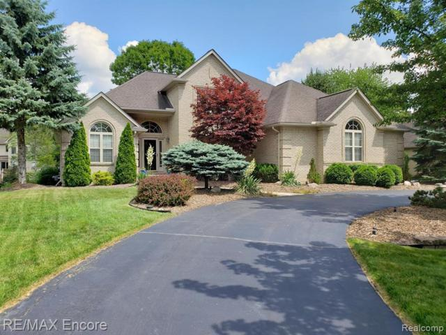 7979 Brookwood Drive, Independence Twp, MI 48348 (#219071895) :: The Alex Nugent Team   Real Estate One
