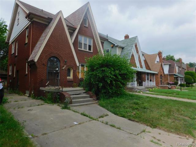 16213 Ohio Street, Detroit, MI 48221 (MLS #219072025) :: The Toth Team